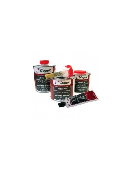 Adhesivos, colas y disolventes para PVC